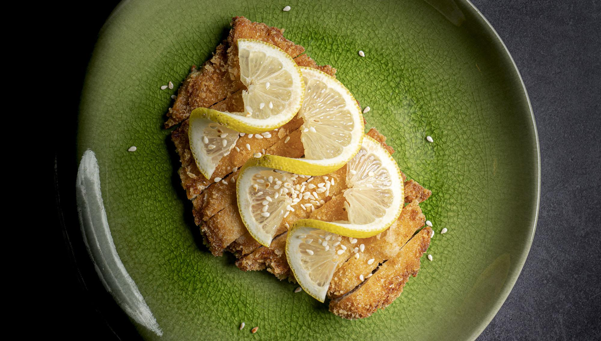 檸檬雞片 | Poulet croustillant à la sauce citron