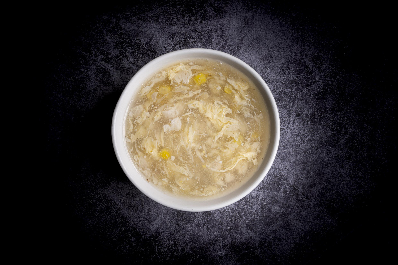 雞茸粟米羹 | Potage de maïs avec du poulet