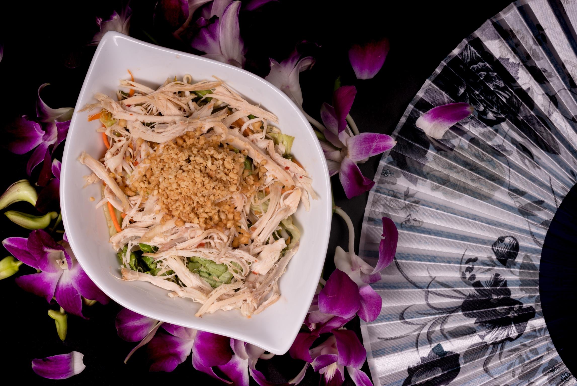 雞絲沙拉   Salade de poulet