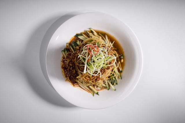 凉面   Nouilles froides à la sauce sésame, Liang Mei Sichuan