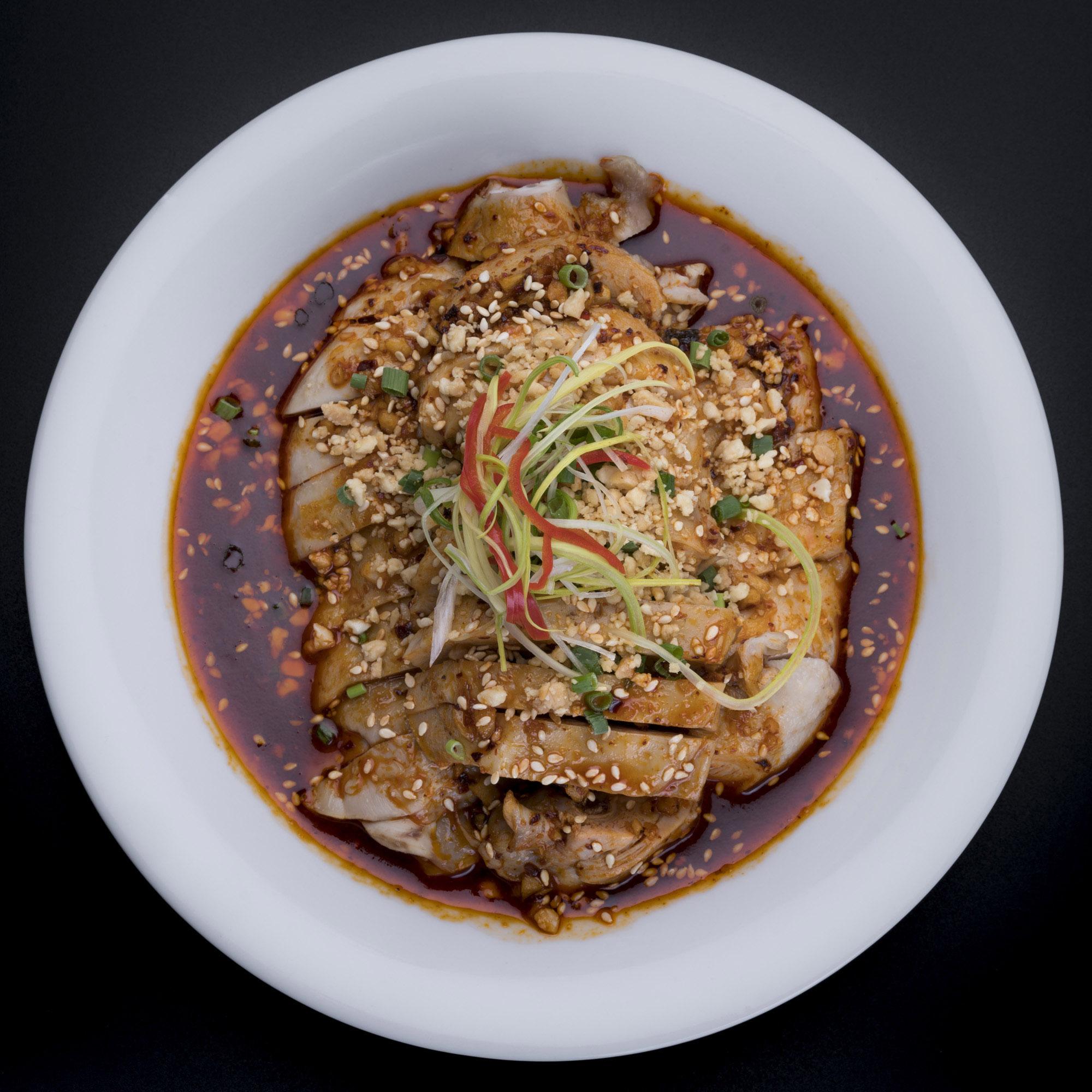 口水鸡   Poulet Chongqin