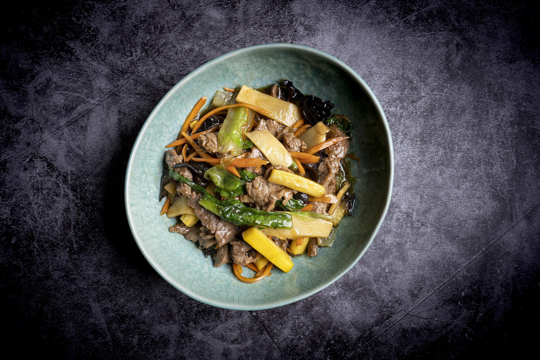 什菜牛肉   Boeuf chop suey (divers légumes)