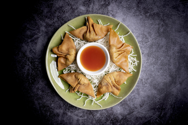 炸雲吞   Raviolis chinois frits