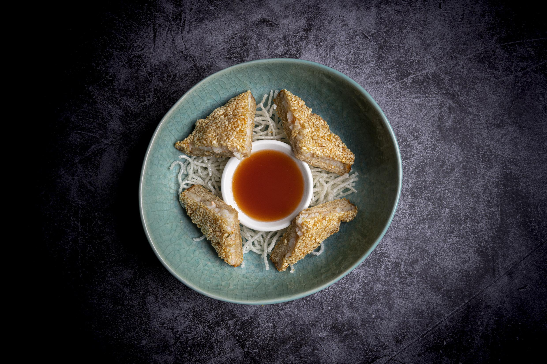 芝麻蝦多士   Hatoci (crevettes sésames toast)
