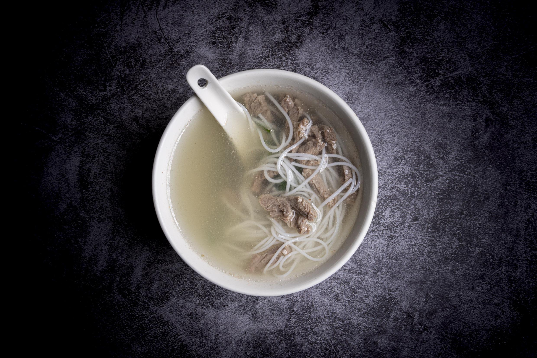 河牛湯   Potage tonkinois (boeuf et nouilles)