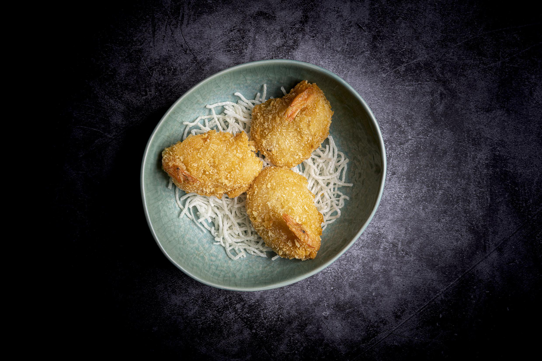 鳳尾蝦   Crevettes en beignet