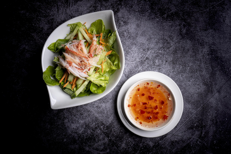蟹沙拉   Salade de crabe (100% chair de crabe)