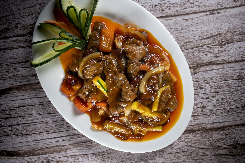 四川牛肉   Boeuf Sichuan, piquant